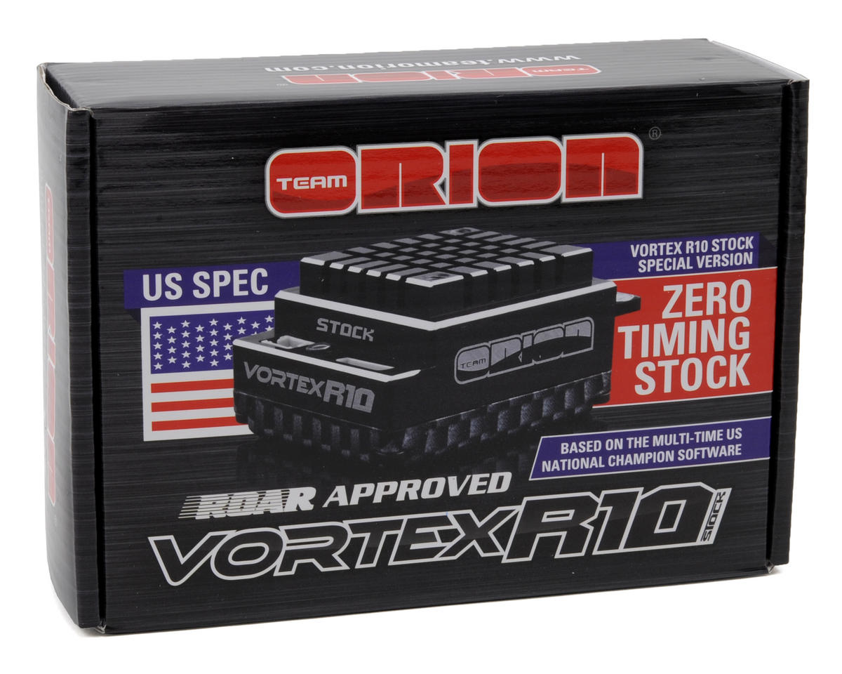 Image 3 for Team Orion Vortex R10 Stock US SPEC Brushless ESC (90A, 2-3S)