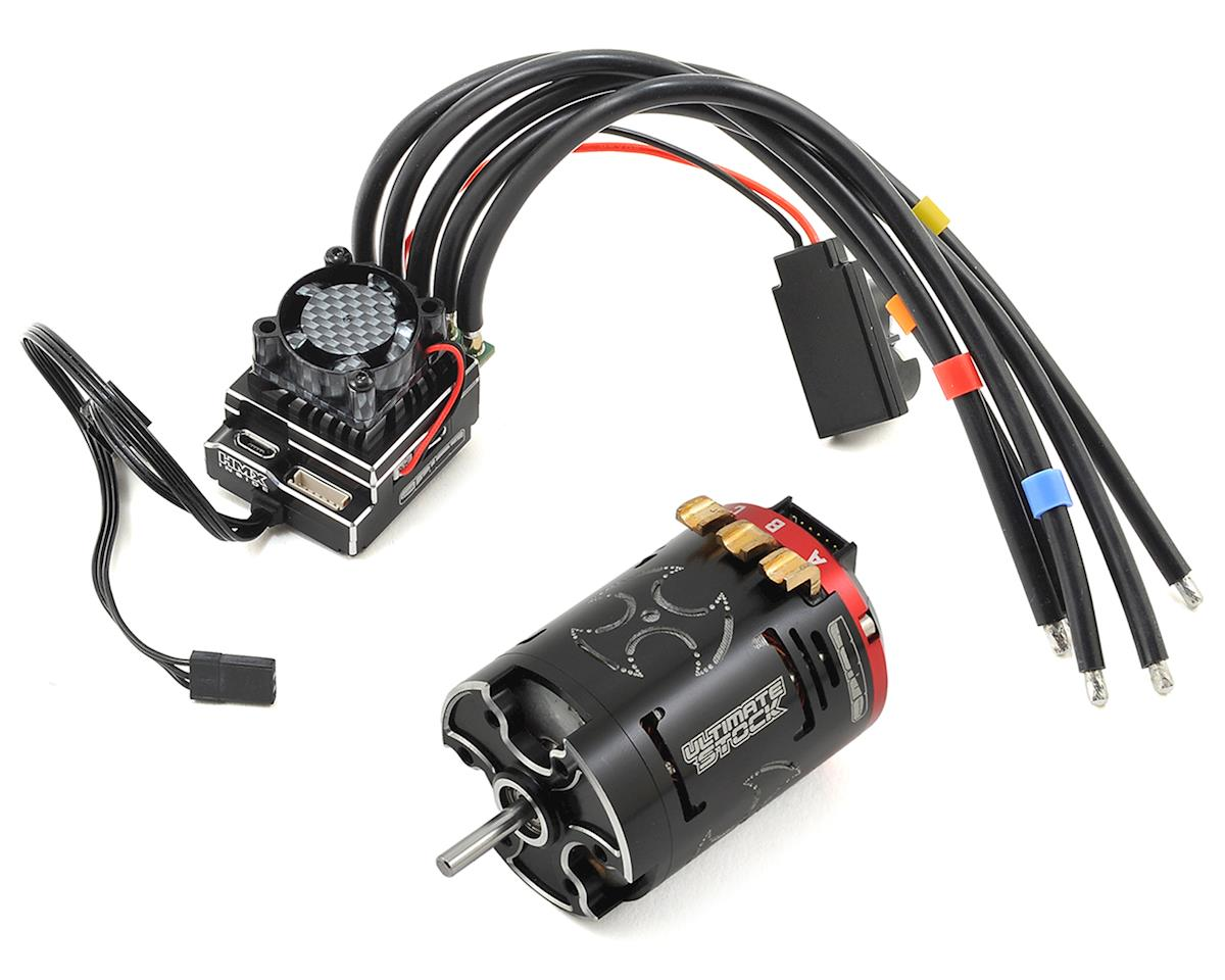 Team Orion HMX 10 Blinky ESC & Vortex Ultimate Stock Brushless Combo (17.5T)