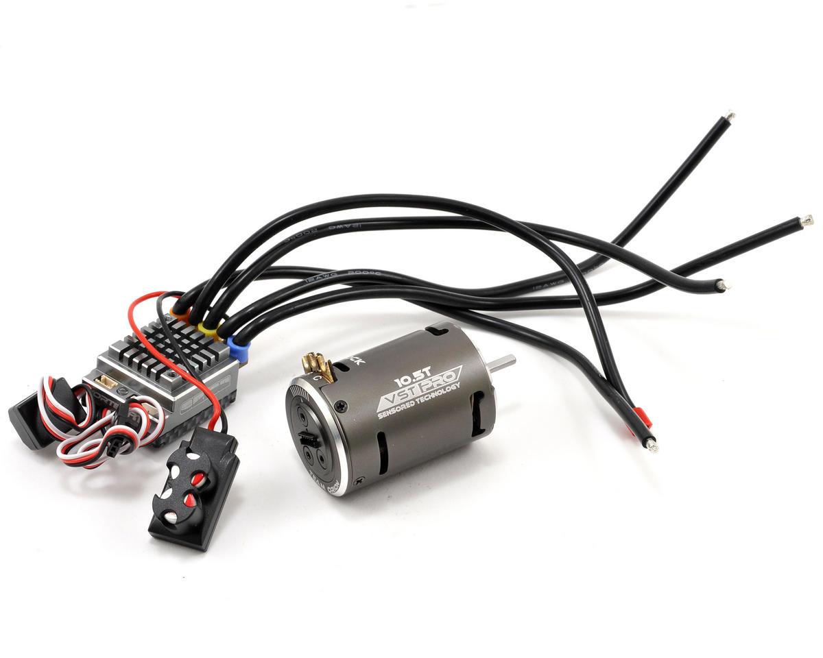 Team Orion R10 Pro 2-3S ESC & Vortex VST Pro Stock Brushless Combo (10.5T)
