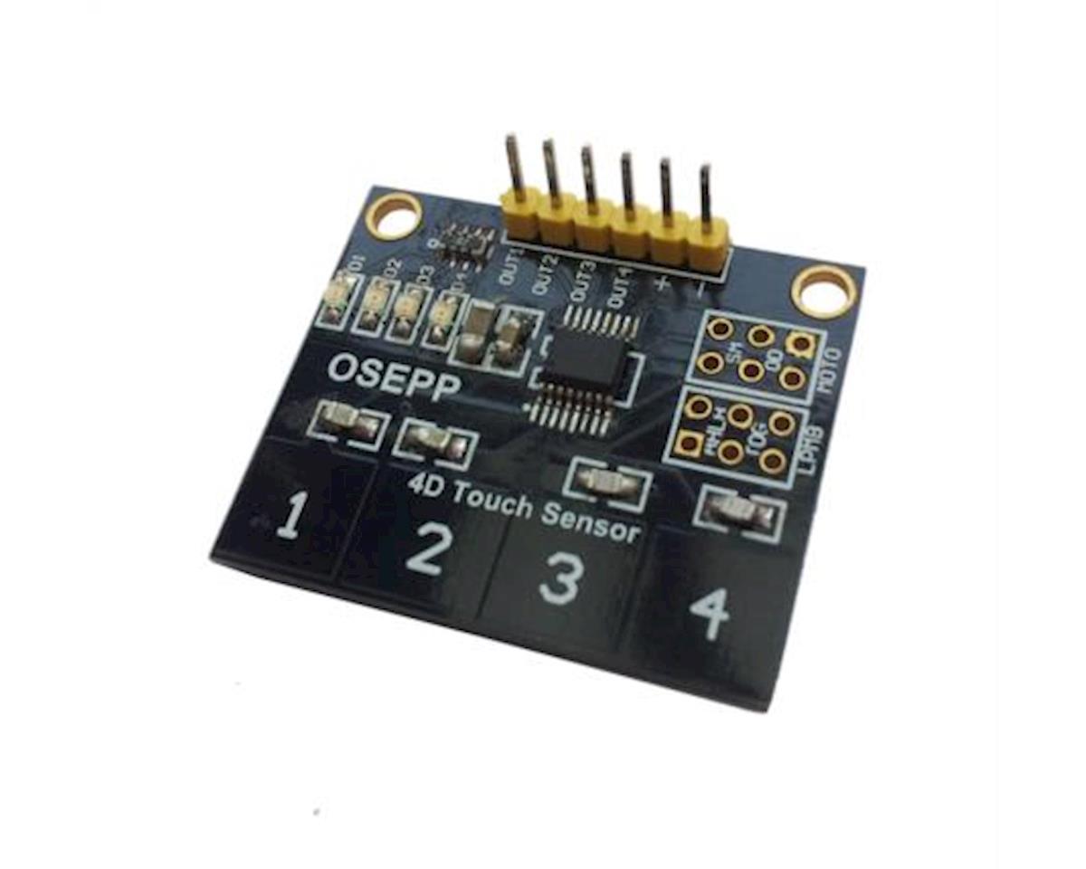 OSEPP 4-Digit Touch Sensor Module