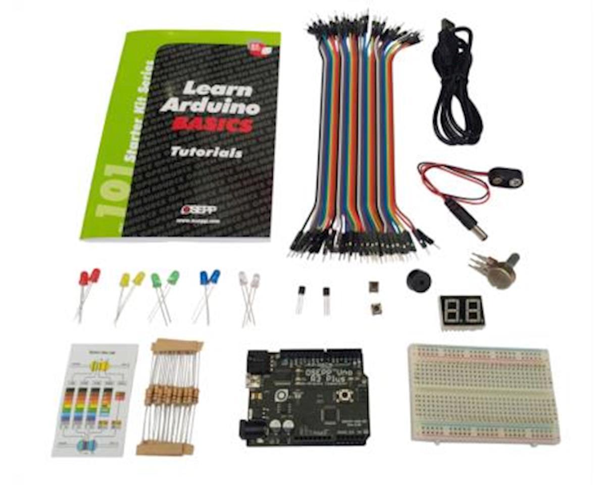 Ardunino Basics Starter Kit W/Uno-03 by OSEPP