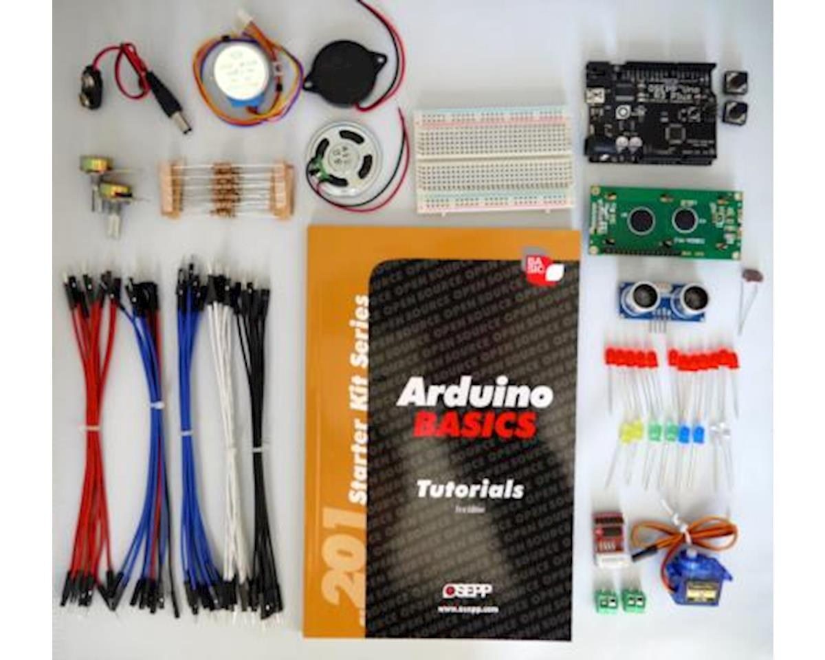 OSEPP Arduino 201 Basics Start Kit W/Uno-03