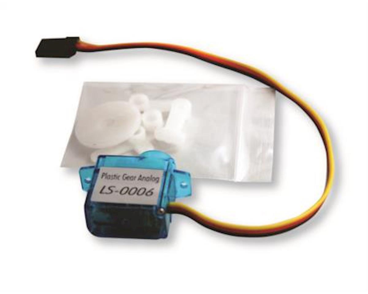 Servo-Plas Gear Analog Med Arduino by OSEPP