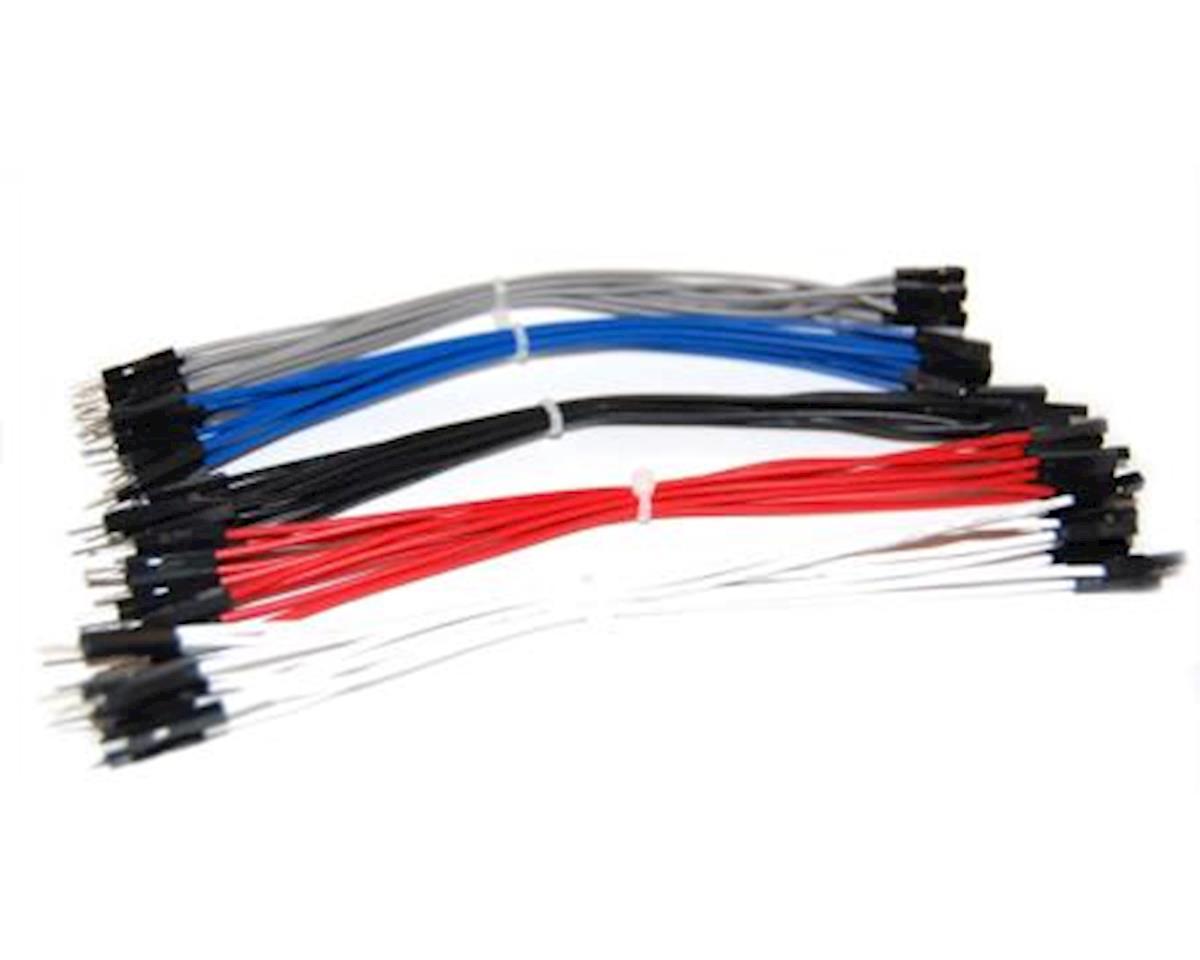 OSEPP 6In M/F Premium Jumpers 50Pc Arduino