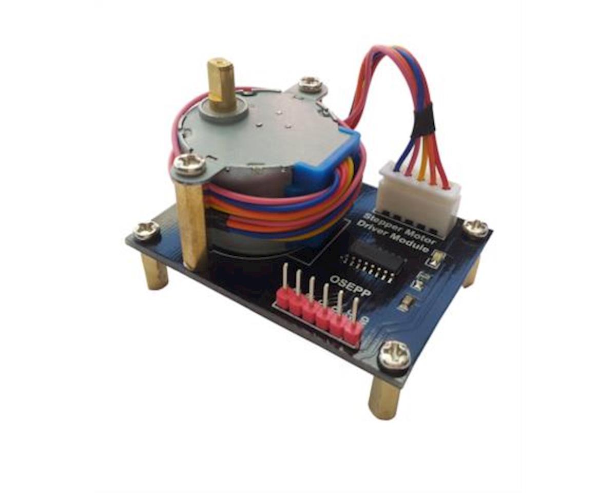 OSEPP Stepper Motor + Driver Module