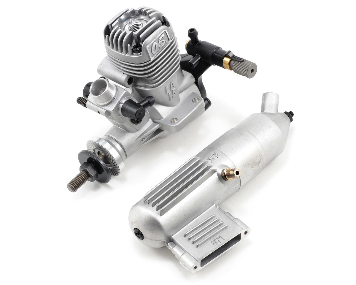 O.S. 15LA .15 Glow Engine w/Muffler