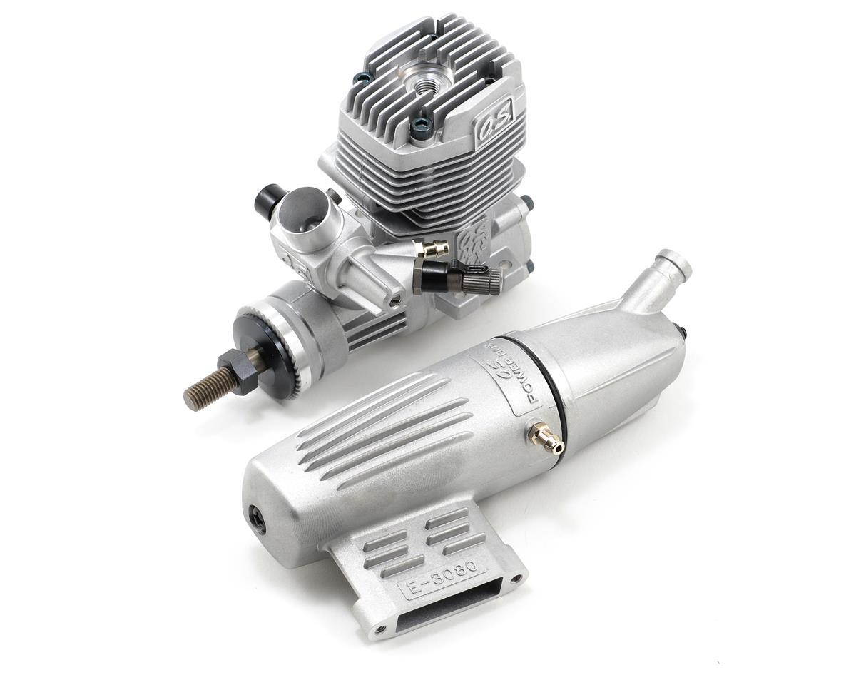 O.S. 35AX .35 Glow Engine w/Muffler
