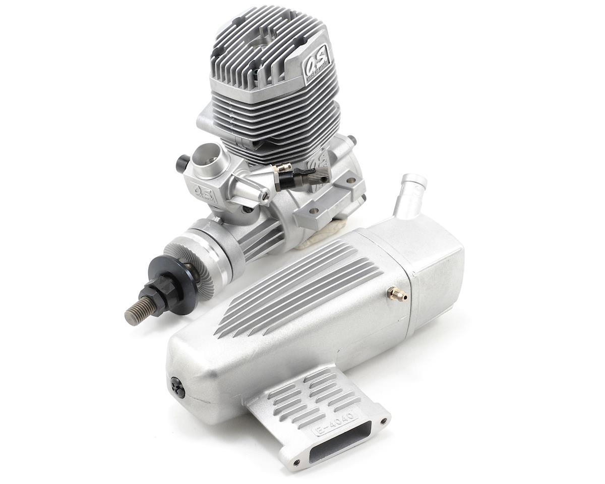 O.S. 75AX .75 Glow Engine w/Muffler | relatedproducts