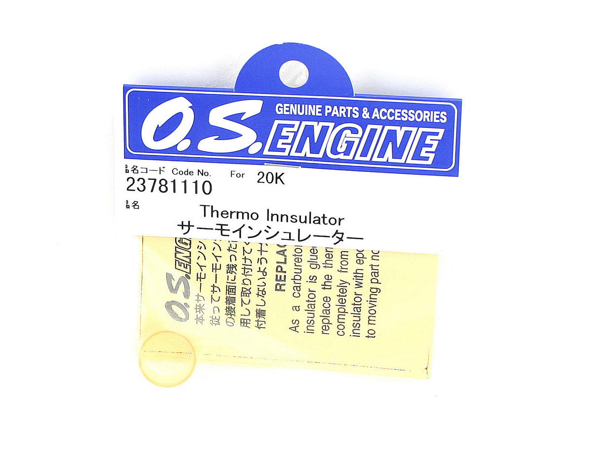 O.S. Thermo Carburetor Insulator 20K/21C/20L/21H/21J