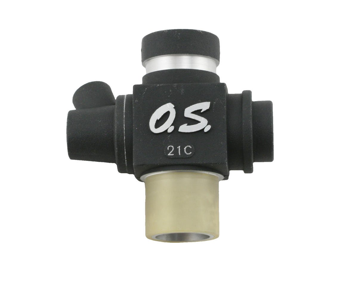 O.S. Carburetor Body 21C (.21 VZ-B V-Spec)