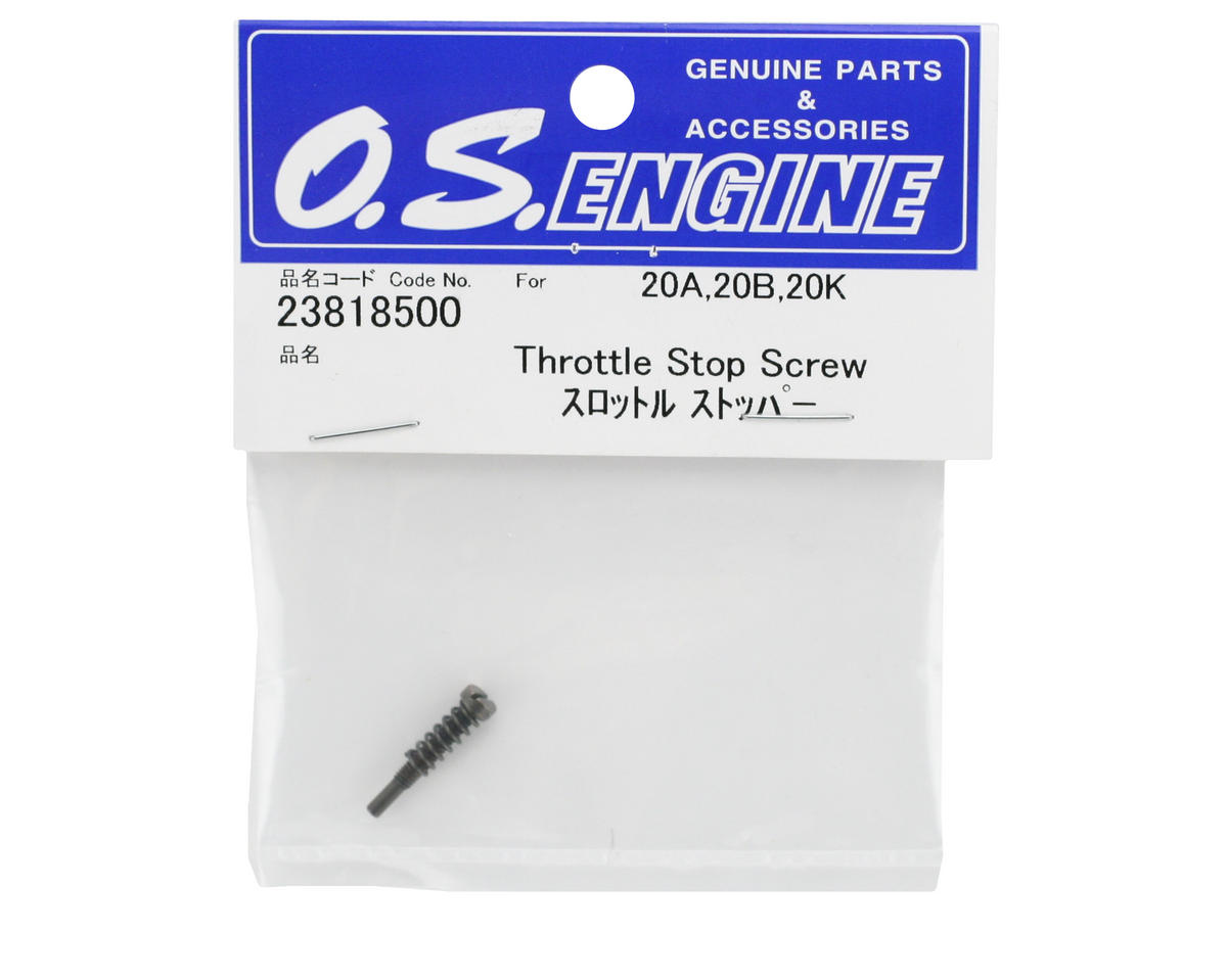 O.S. Throttle Stop Screw  #20A/B (.21 VZ-B V-Spec)