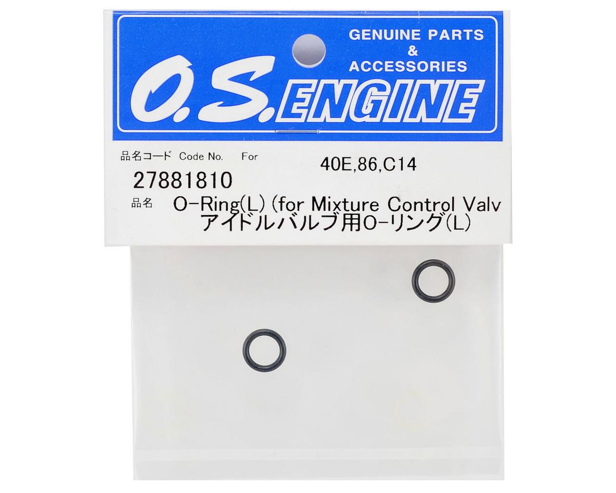 O.S. Engines Large Mixture Control Valve O-Ring (2)