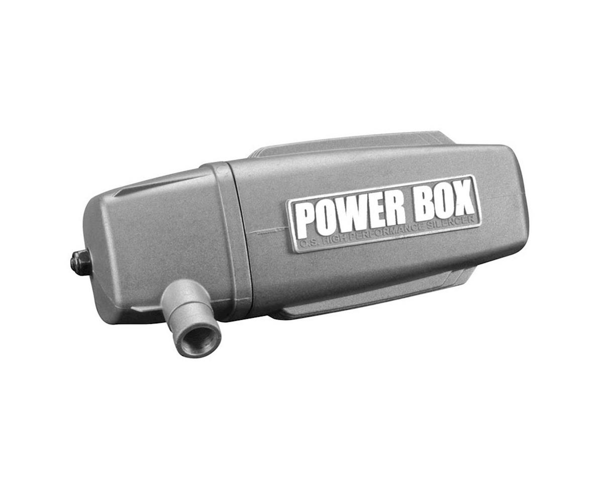 Muffler Power Box: O.S. Engines 120AX