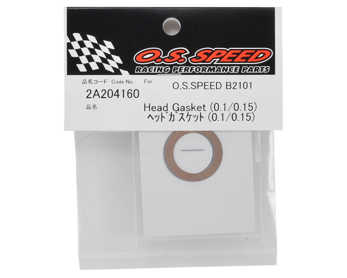 O.S. B2101 Speed Head Gasket Set