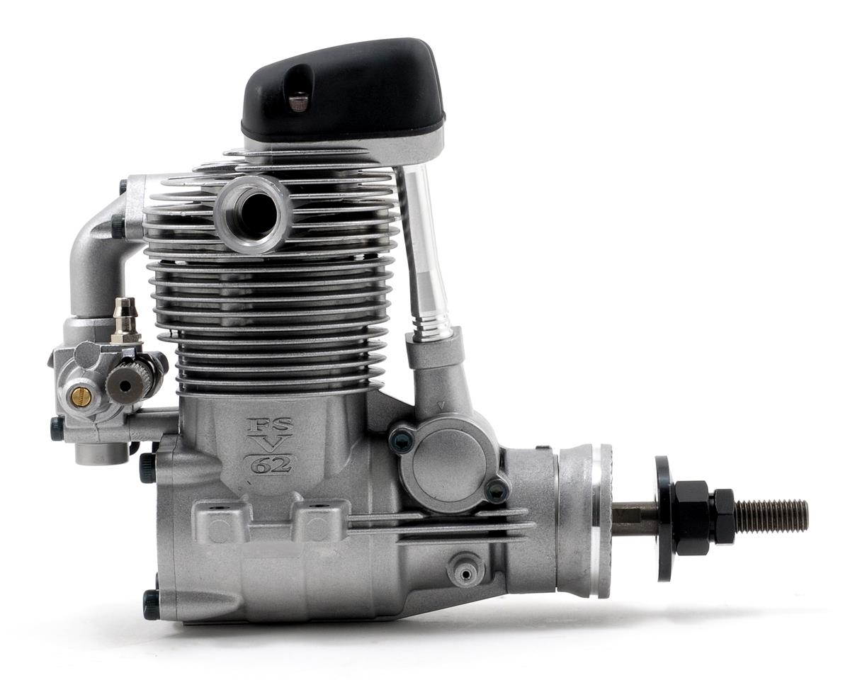 FS-62V Four Stroke Glow Engine w/Muffler by O.S.