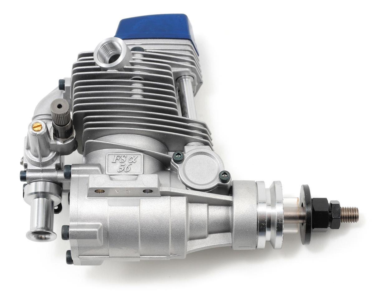 FS-56-a .56 Four Stroke Glow Engine w/Muffler by O.S.