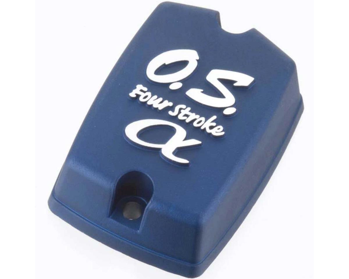 O.S. Rocker Cover Blue FS72 Alpha