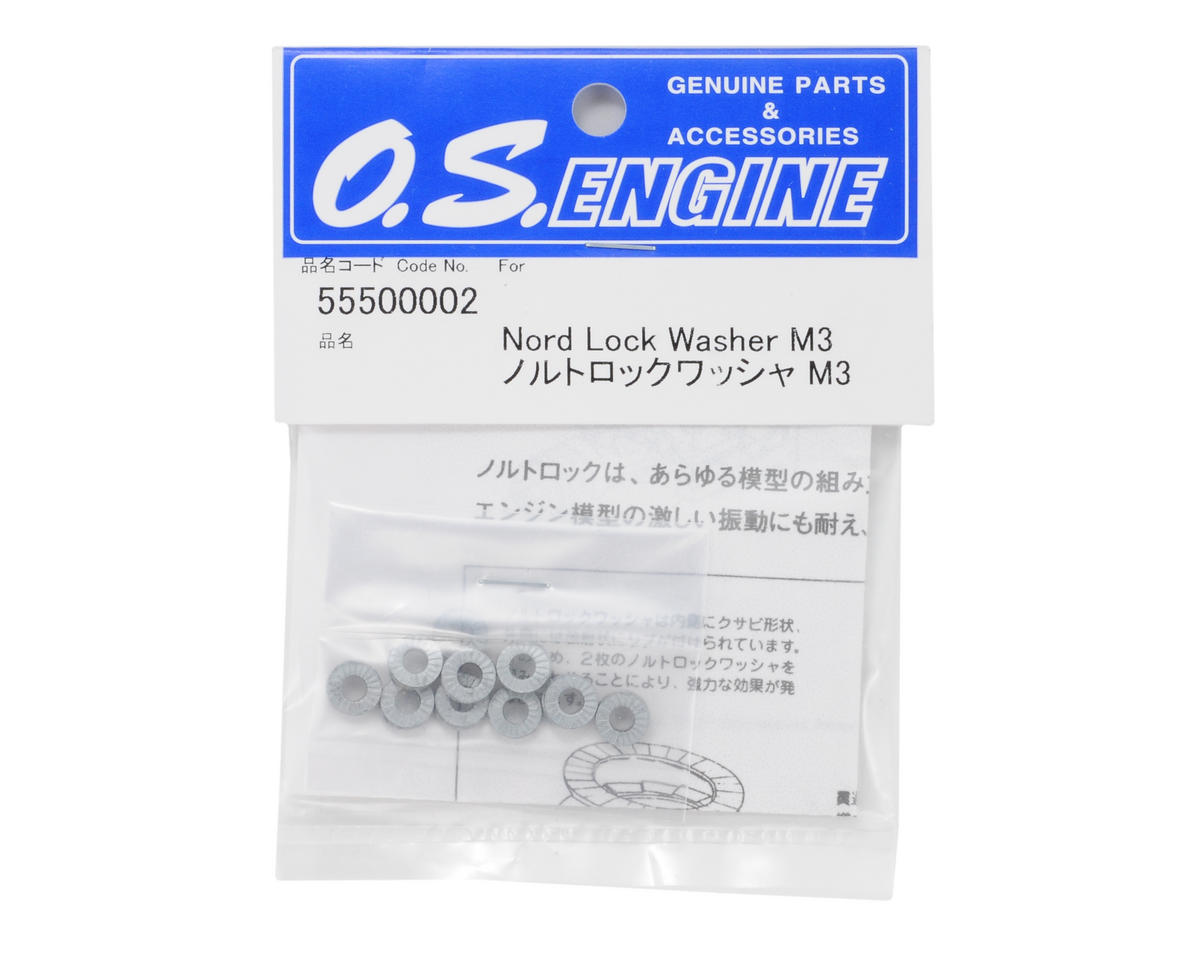 O.S. Engines 3mm Lock Washer