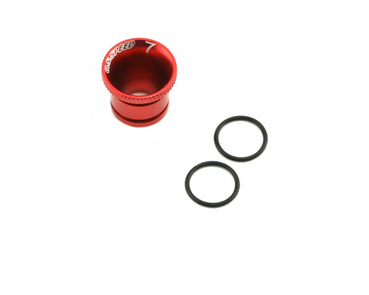 O.S. 7mm Carburetor Reducer (Speed .21) (JQ Products THE Engine)