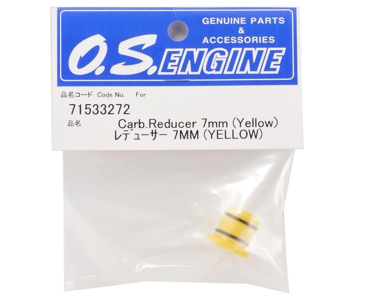 O.S. 7mm Carburetor Reducer (Yellow)