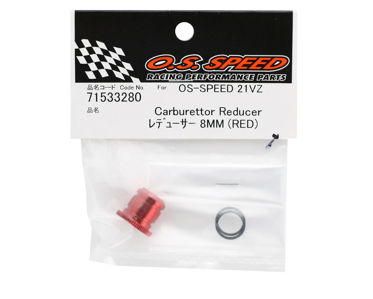 O.S. Red Carburetor Reducer 8mm (Speed .21)