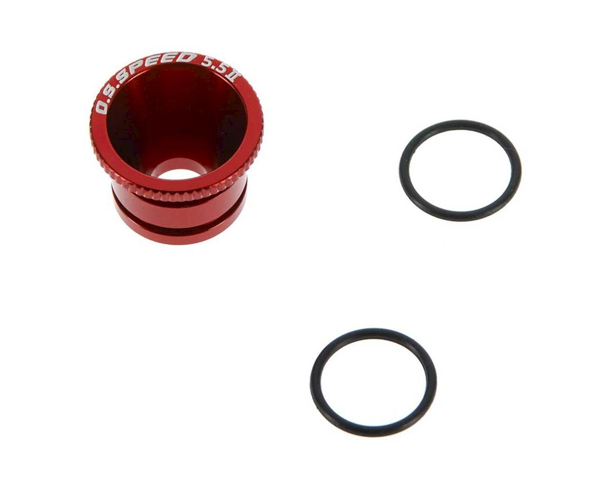 O.S. 71533455 Carburetor Reducer Red AL2 5.5mm Speed T1202