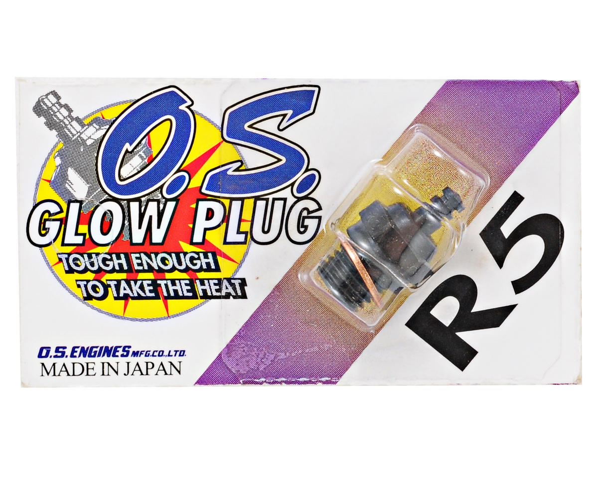"R5 Short Body Standard Glow Plug ""Medium"" by O.S."
