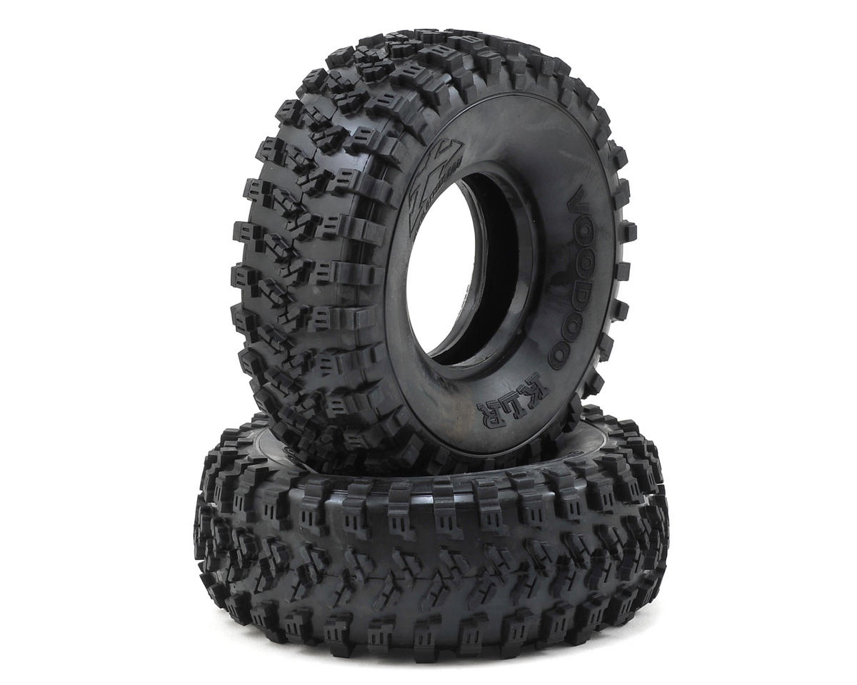 "Voodoo KLR 1.9"" Crawler Tires (2) (No Foam) (Silver) by Team Ottsix Racing"