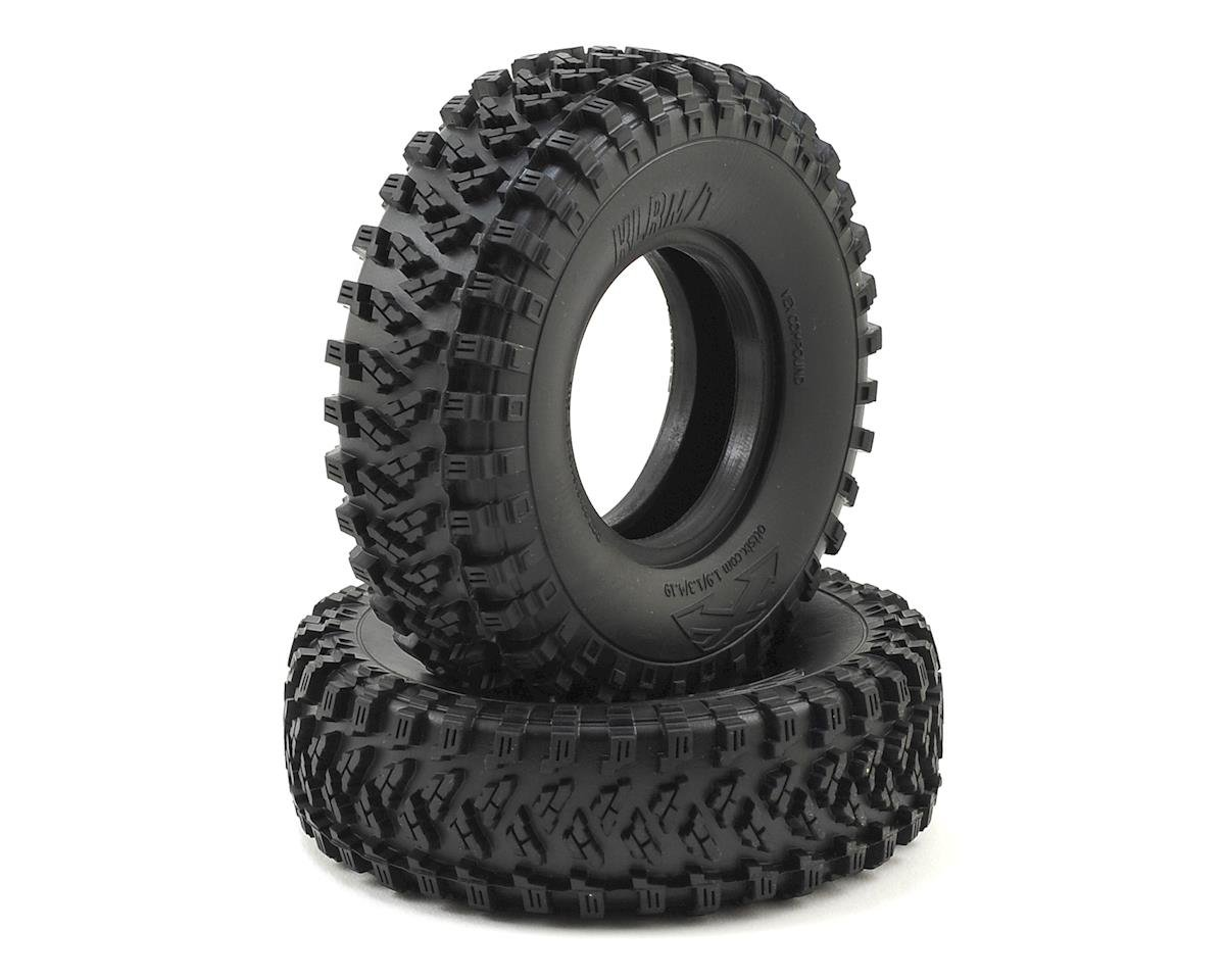 "Team Ottsix Racing Voodoo KLR MT 4.19 1.9"" Crawler Tires (2) (No Foam) (Red)"