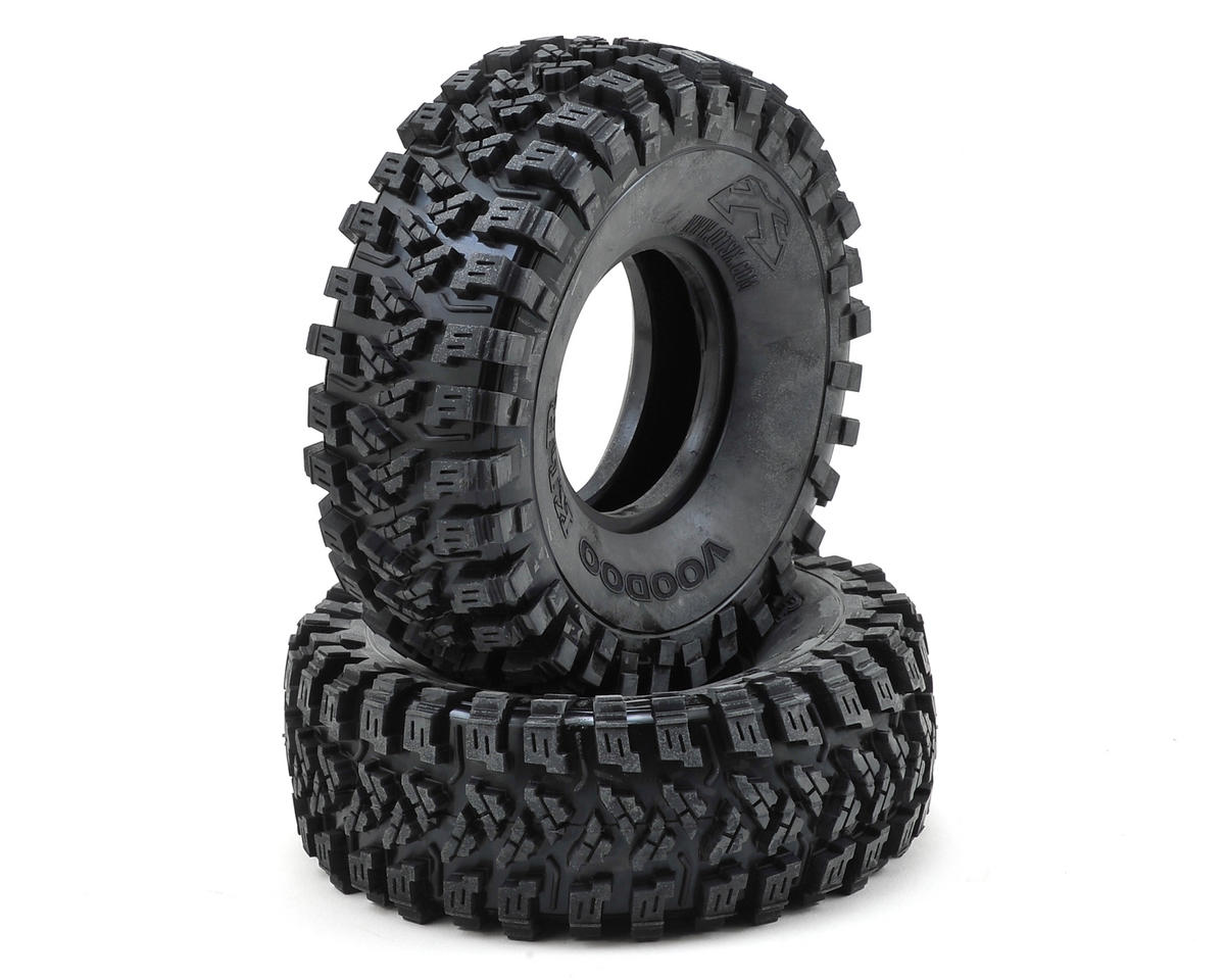 "Team Ottsix Racing Voodoo KLR 2.2"" Crawler Tires (2) (No Foam) (Blue)"