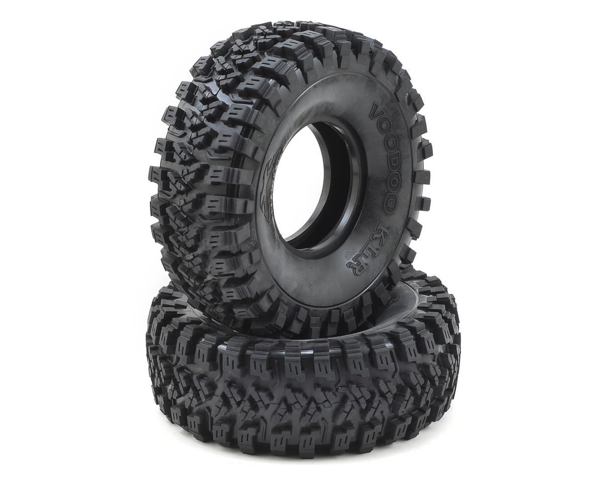 "Team Ottsix Racing Voodoo KLR 2.2"" Crawler Tires (2) (No Foam) (Silver)"