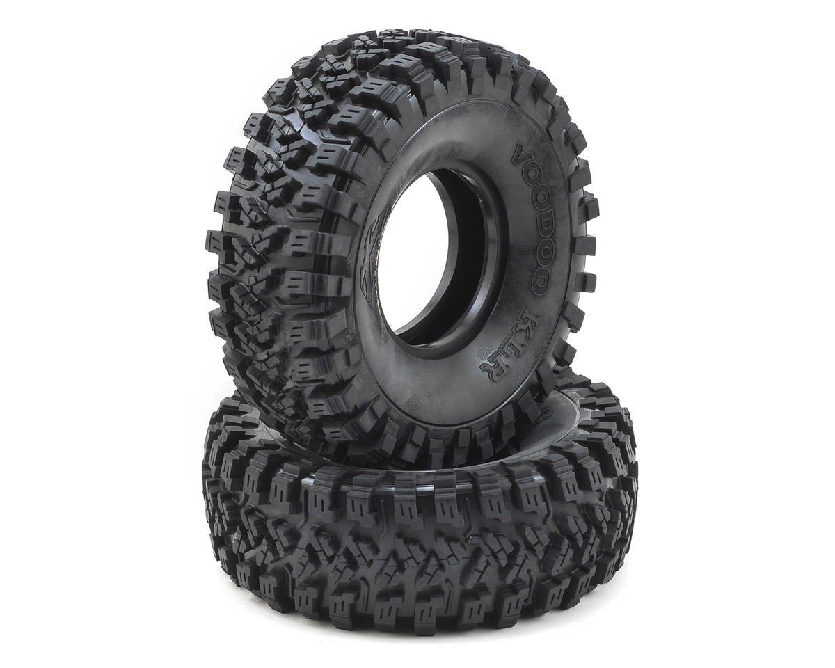 "Voodoo KLR 2.2"" Crawler Tires (2) (No Foam) (Silver) by Team Ottsix Racing"