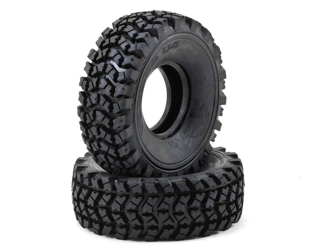 "Team Ottsix Racing Voodoo U4 2.2"" Crawler Tires (2) (No Foam) (Gold)"
