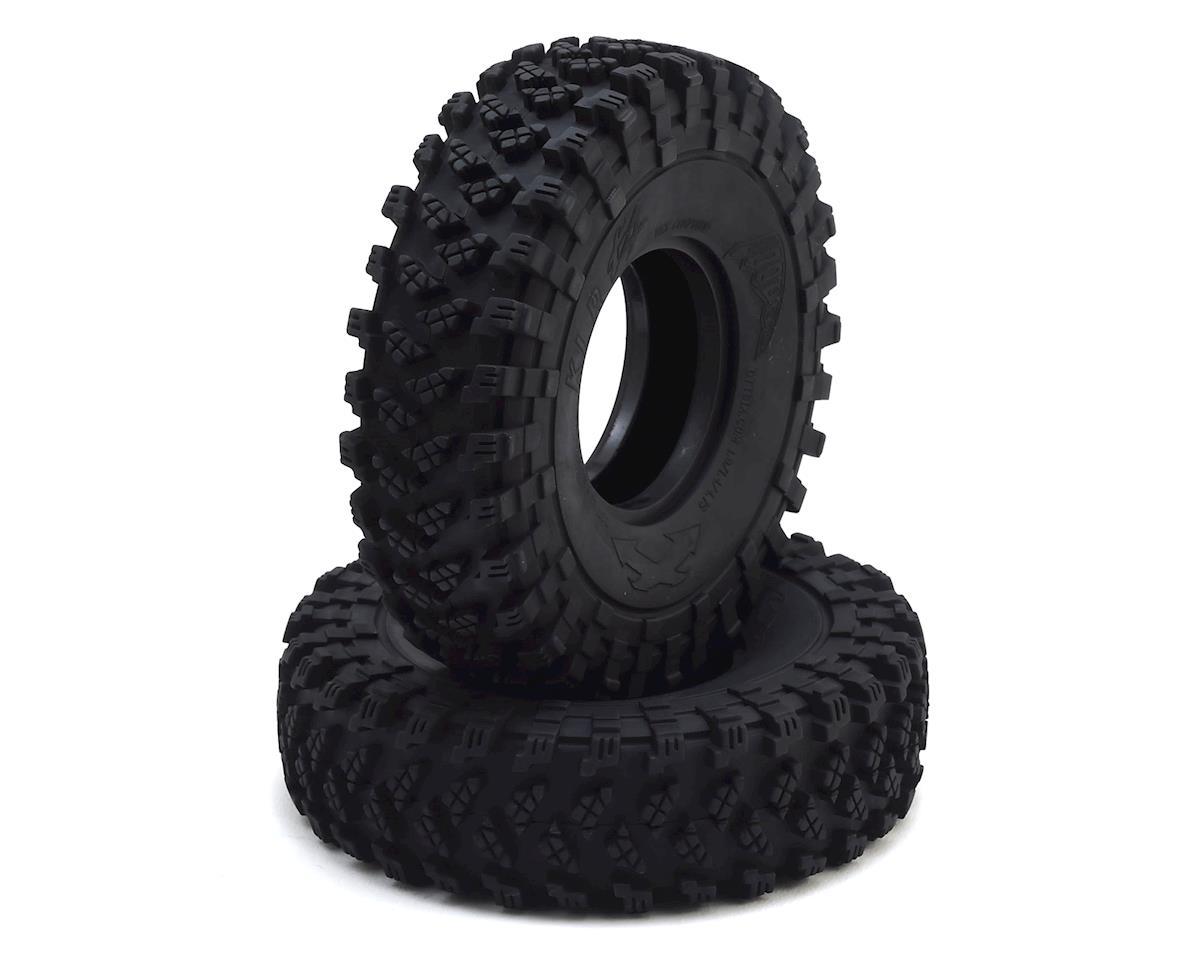 Team Ottsix Racing Voodoo KLR X4 1.9 Crawler Tires (2) (Silver)