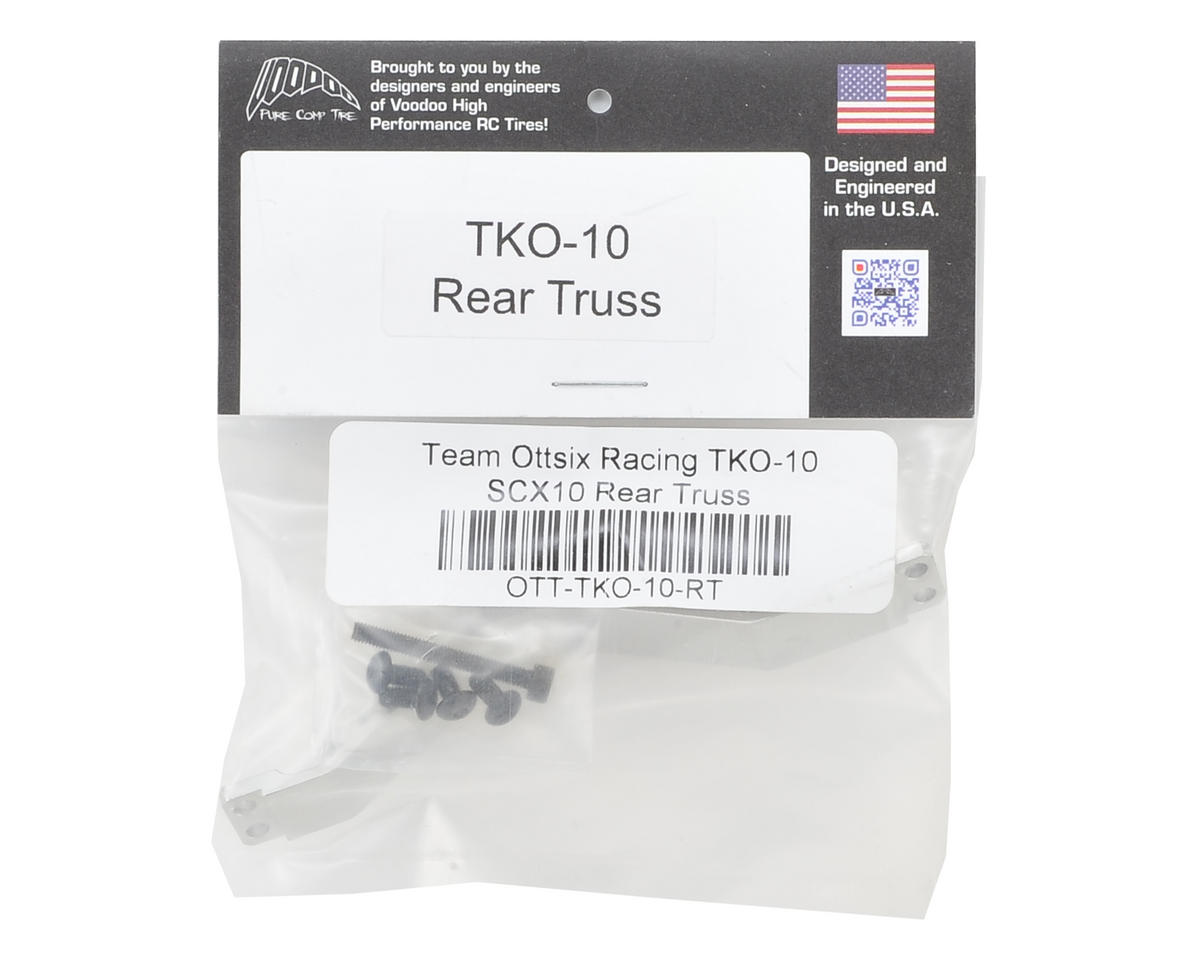 Team Ottsix Racing TKO-10 SCX10 Rear Axle Truss