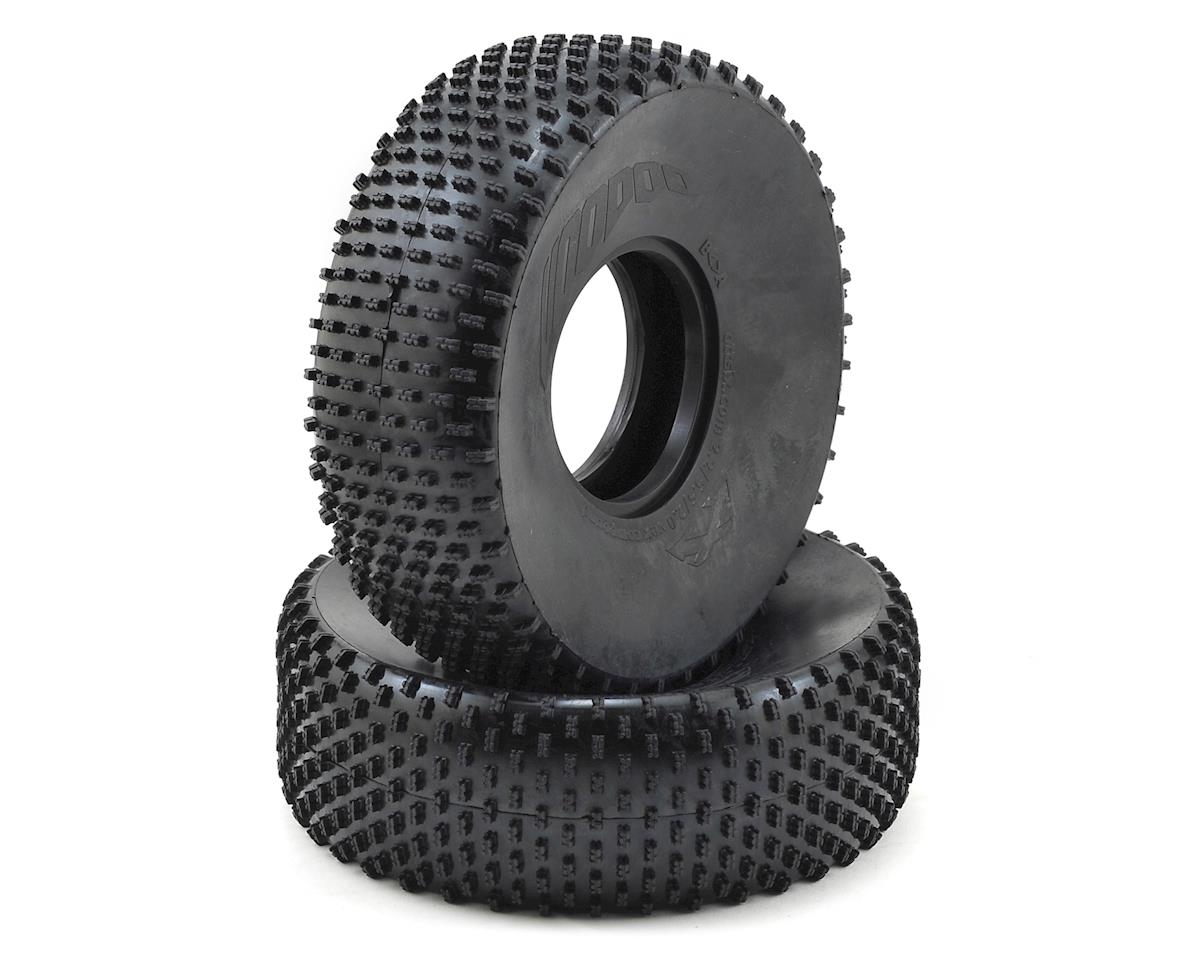 "Team Ottsix Racing Voodoo PIN 2.2"" Crawler Tires (2) (No Foam) (Silver)"