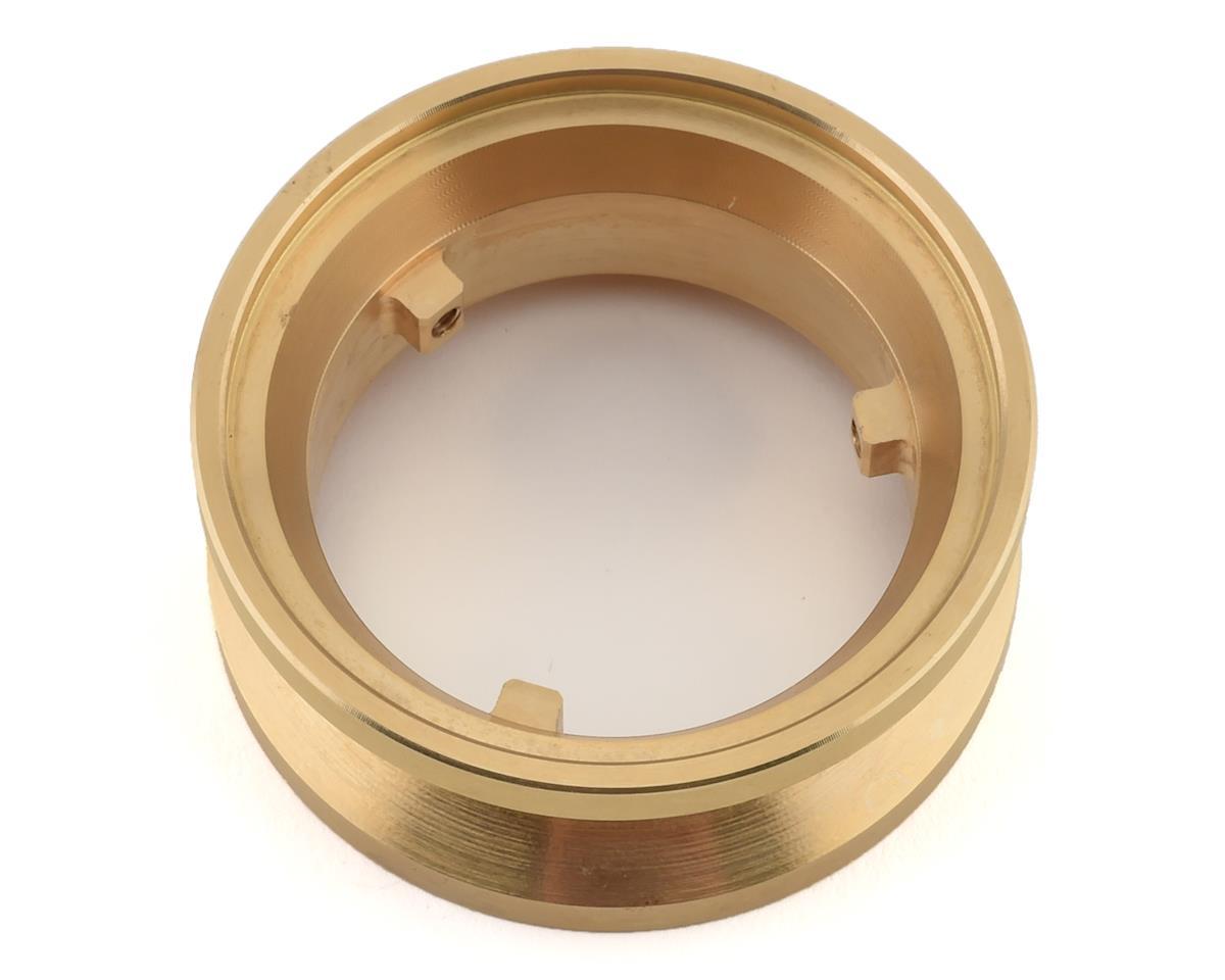 Team Ottsix Racing Voodoo VariHub Brass Outer Ring (1) (3.5oz each)