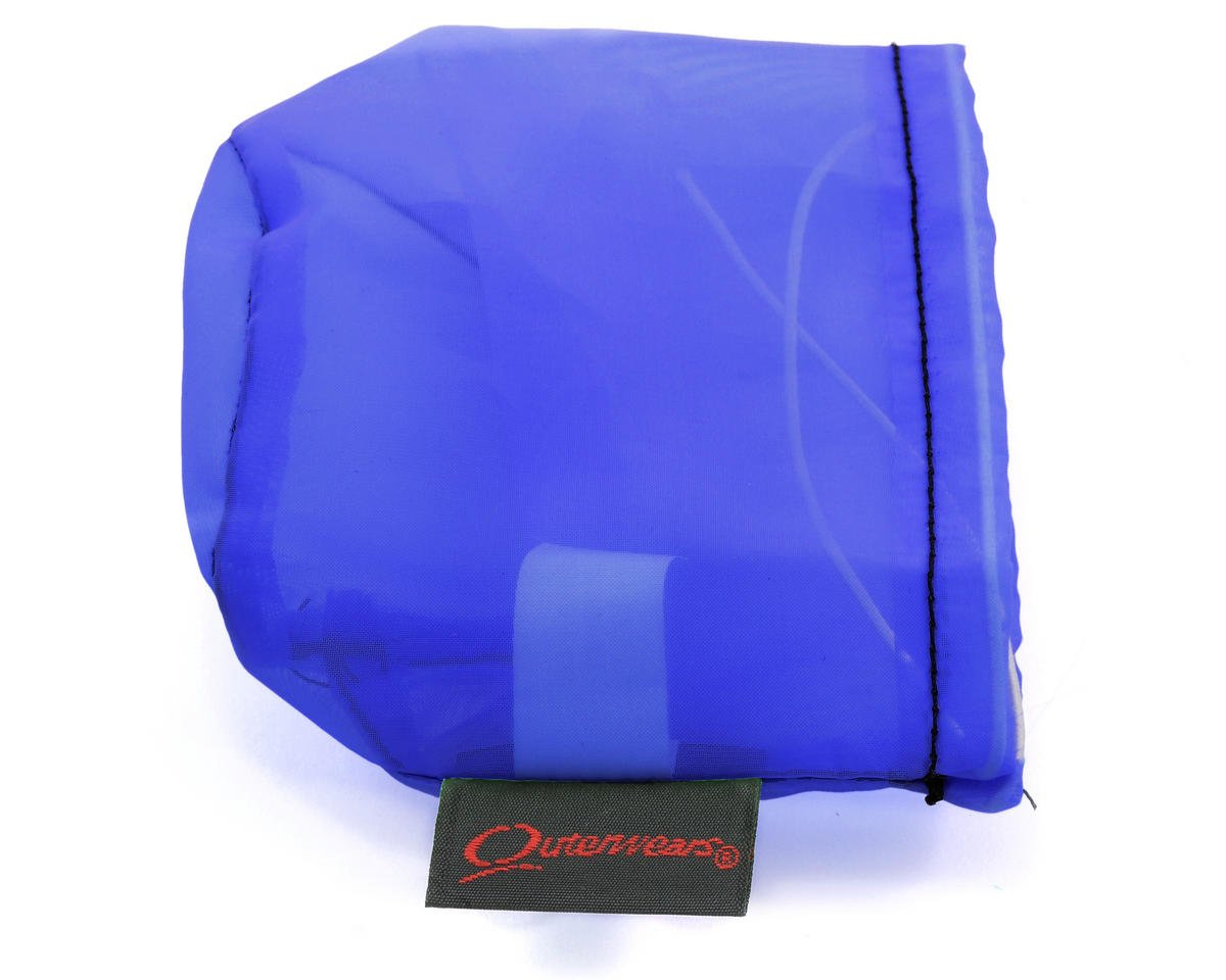 Outerwears Performance Pre-Filter Air Filter Cover (2 3/4 Dia. x 2 1/2) (Blue) (HPI Baja 5R)