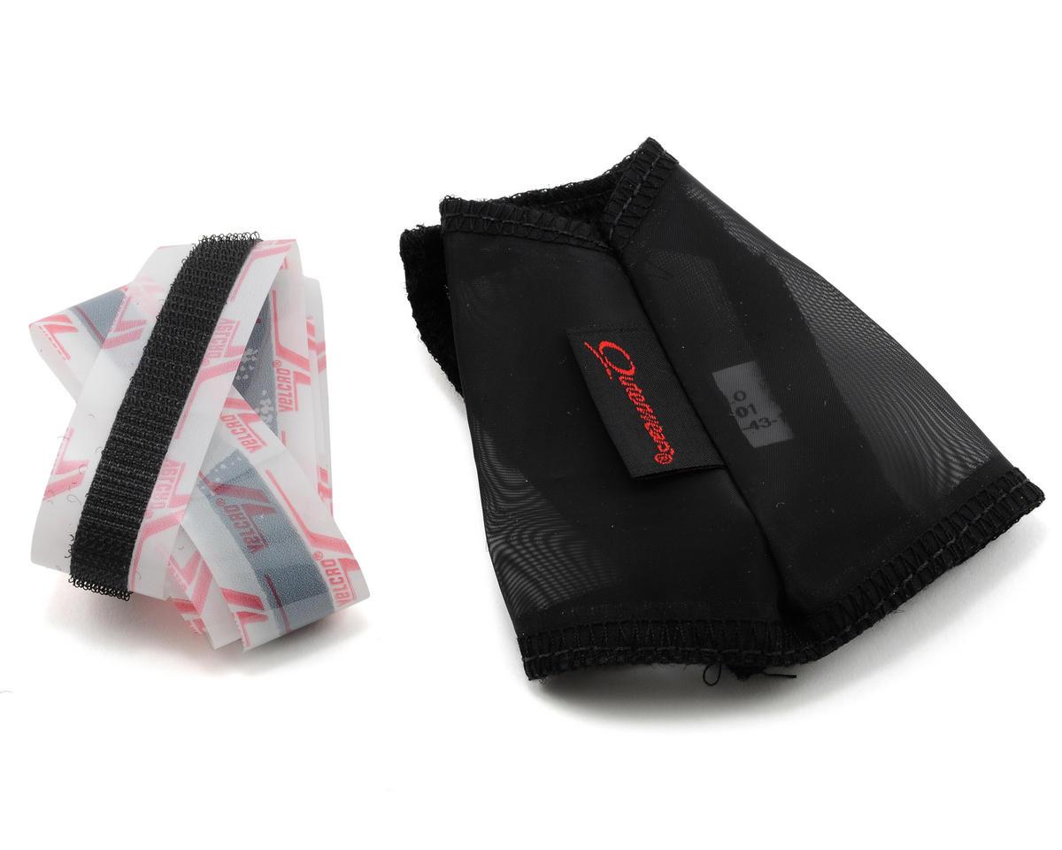 Outerwears Performance Crankcase/Flywheel Cover w/Hook & Loop (Black)