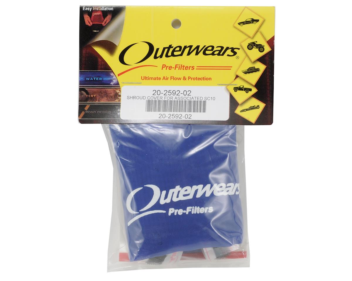 Outerwears Performance Short Course Truck Shrouds (SC10) (Blue)