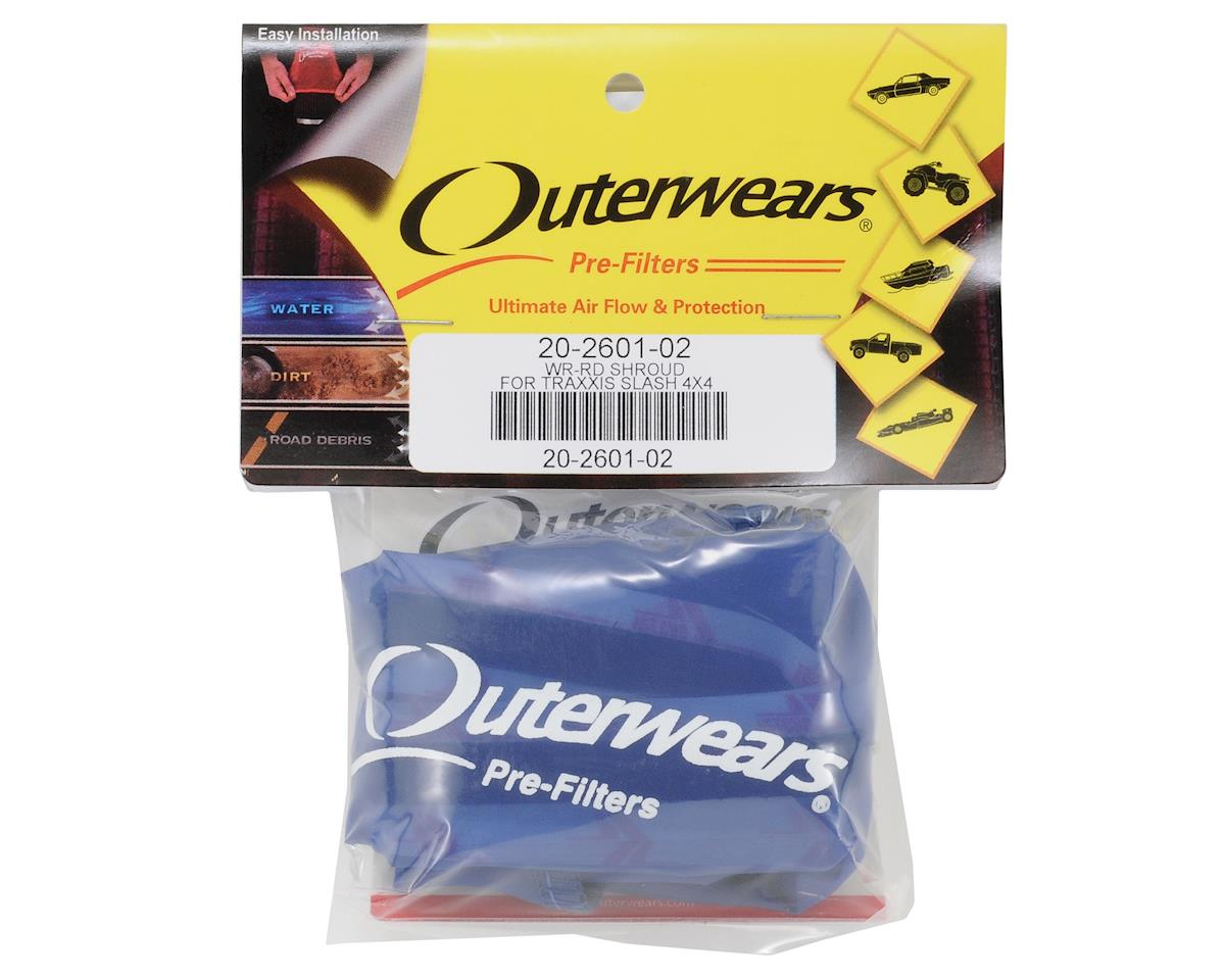 Performance Short Course Truck Shroud (Slash 4x4) (Blue) by Outerwears