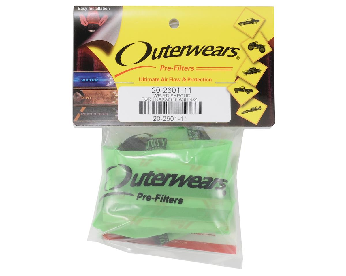 Performance Short Course Truck Shroud (Slash 4x4) (Lime Green) by Outerwears
