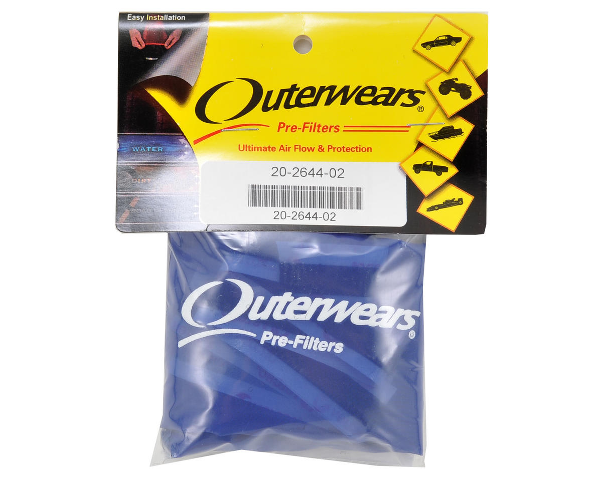 Outerwears Performance Truck Shroud (E Revo) (Blue)