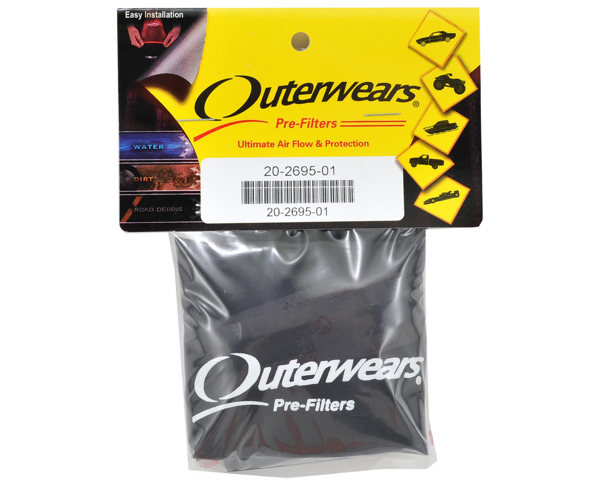 Outerwears Performance Short Course Truck Shroud (SC10 4x4) (Black)