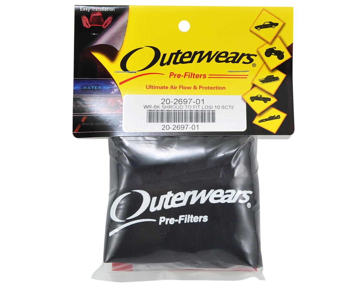 Outerwears Performance Short Course Truck Shroud (TEN-SCTE) (Black)