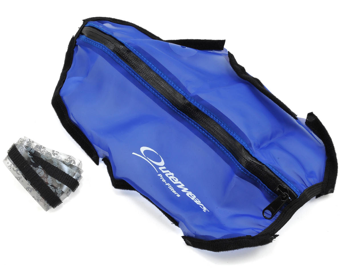 Outerwears Short Course Truck Shroud w/Zipper (Slash 4x4) (Blue)