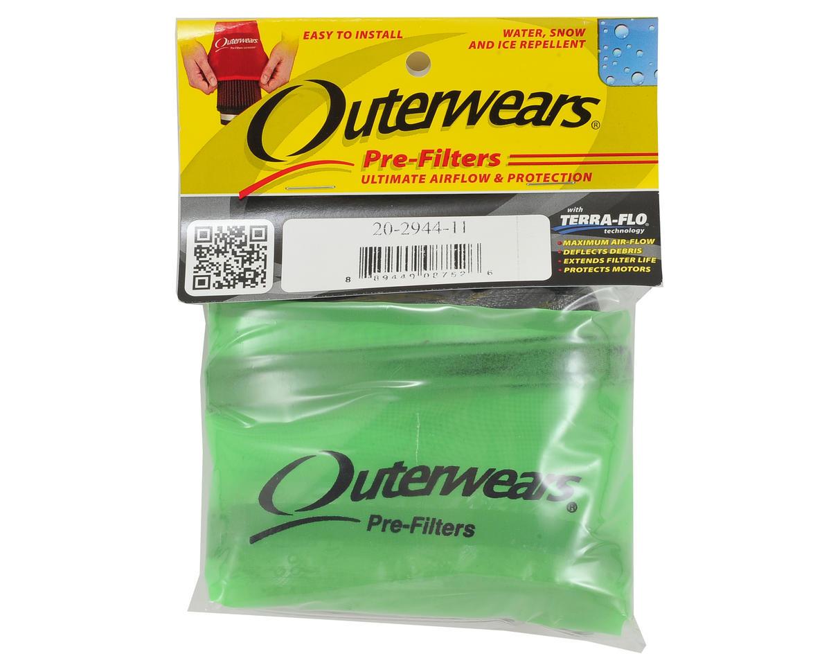 Outerwears Short Course Truck Shroud w/Zipper (Slash 4x4 LCG) (Lime Green)