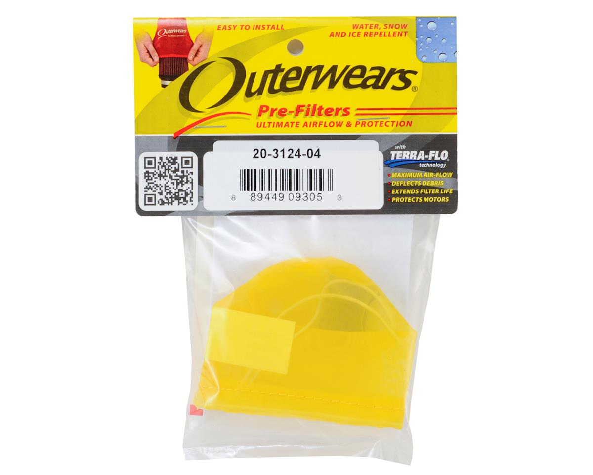 Outerwears Pre-Filter Air Filter Cover (Kyosho MP9) (Yellow)