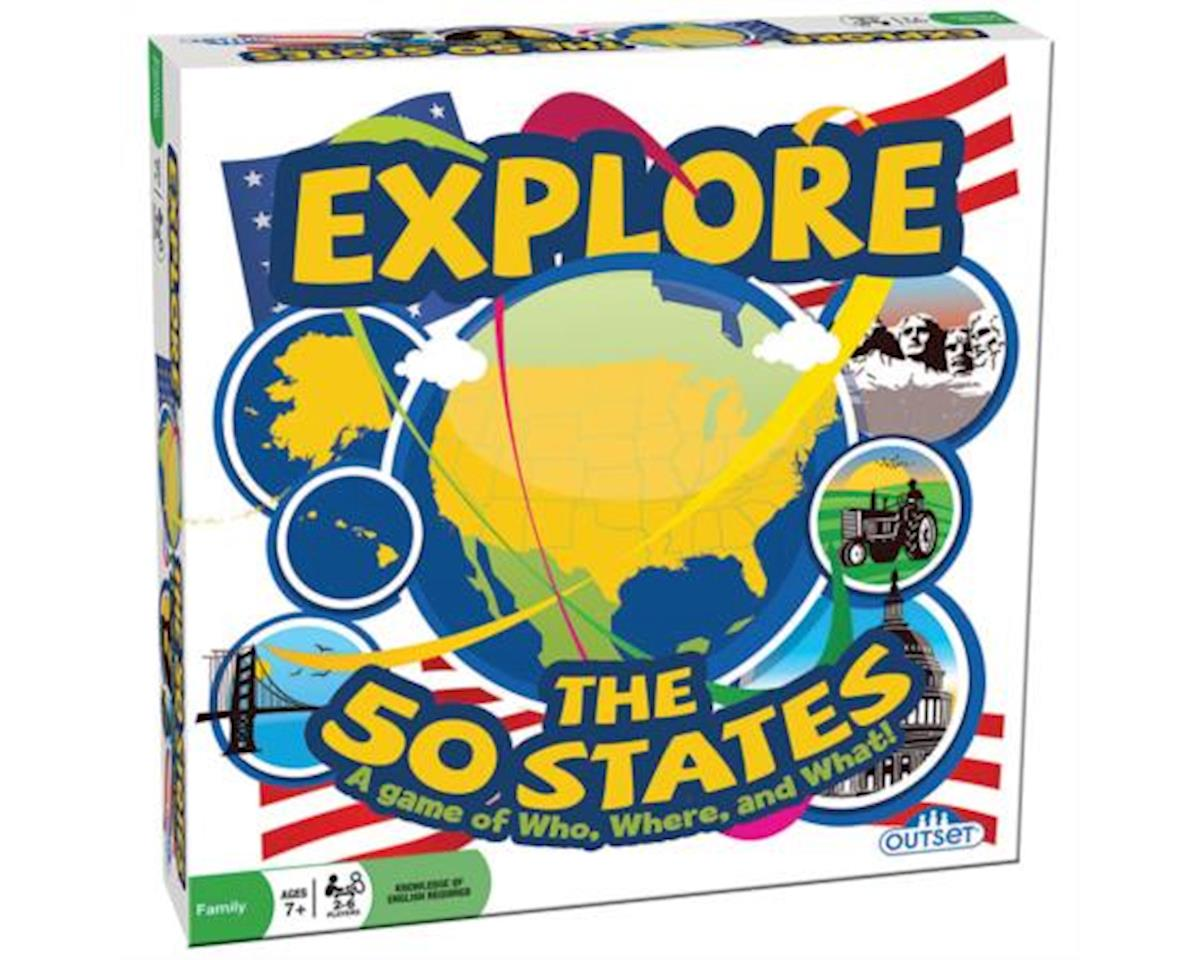 Outset Media - Explore the 50 States - American States Trivia