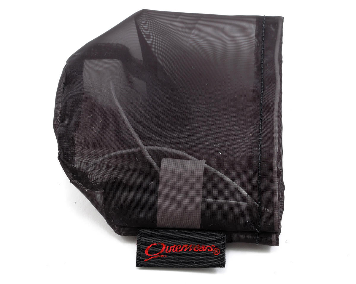 Outerwears Performance Pre-Filter Air Filter Cover (2 3/4 Dia. x 2 1/2) (Black) [OUT20-2265-01 ...